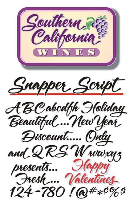 A&S Snapper Script Free TrueType Font